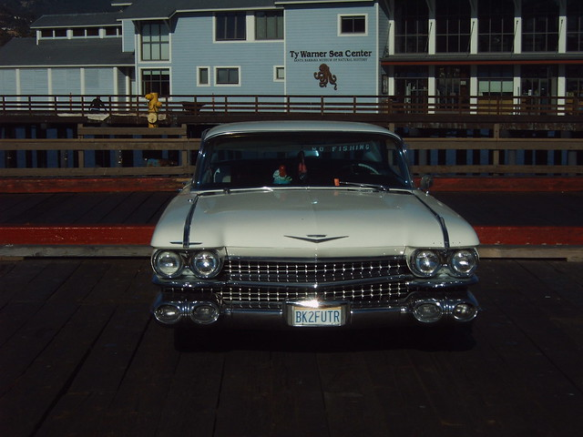Santa Barbar Classic Car Show On State Street