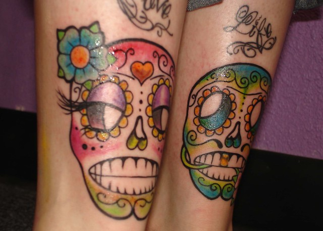 sugar skull couple | Flickr - Photo Sharing!
