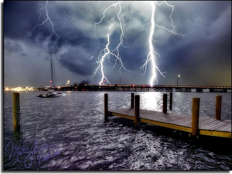 Lightning Over Barnegat Bay