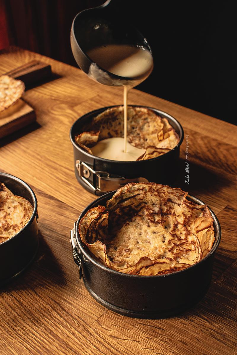 Cheese Blintz Soufflé, el mejor pastel de crepes