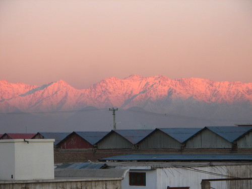 world thanksgiving city morning pink snow afghanistan mountains rose sunrise canon soldier is scenery wide powershot wandering s2 hindukush worldwidewandering