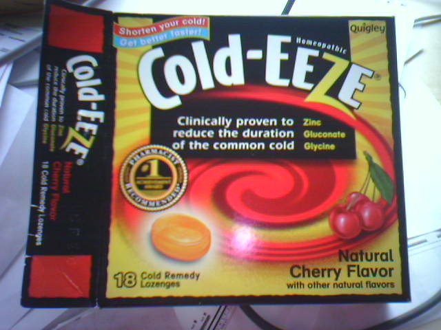 Cold Eeze Cold Remedy Plus Natural Immune Support