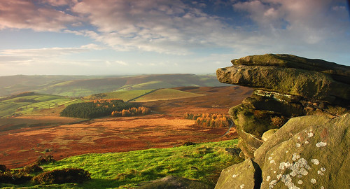 Stanage Edge, Derbyshire, UK