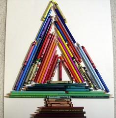Pencil Crayon Tree