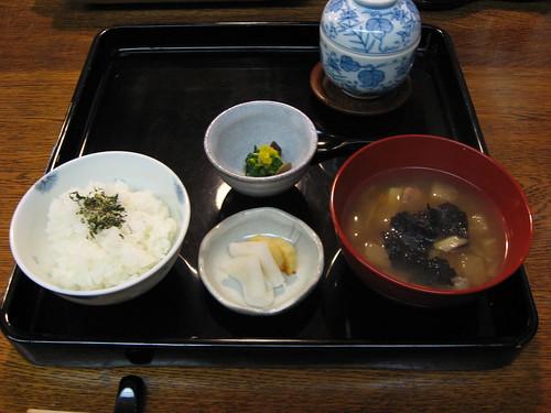 精進料理, third course