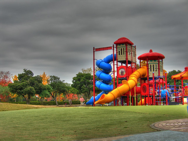 Photo:Autumn playground (HDR) By EugeniusD80
